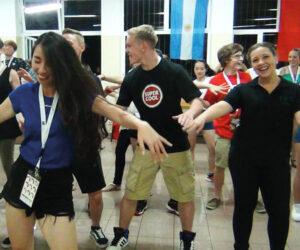 Geselliges Tanzen